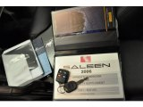 2006 Ford Mustang Saleen S281 Supercharged Coupe Books/Manuals
