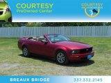 2005 Redfire Metallic Ford Mustang V6 Premium Convertible #67147642