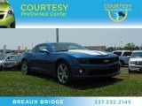 2010 Aqua Blue Metallic Chevrolet Camaro SS/RS Coupe #67147638