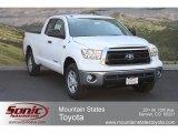 2012 Super White Toyota Tundra Double Cab 4x4 #67146875