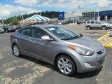 2013 Titanium Gray Metallic Hyundai Elantra Limited #67146832