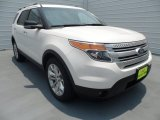 2013 White Platinum Tri-Coat Ford Explorer XLT #67147192