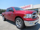2012 Deep Cherry Red Crystal Pearl Dodge Ram 1500 Big Horn Crew Cab #67147162