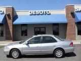 2002 Satin Silver Metallic Honda Accord SE Sedan #6645359