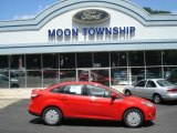 2012 Race Red Ford Focus SE SFE Sedan #67147138