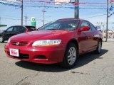 2002 San Marino Red Honda Accord EX V6 Coupe #6568648