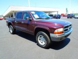 2004 Deep Molten Red Pearl Dodge Dakota SLT Quad Cab 4x4 #67147487