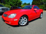 2001 Mercedes-Benz SLK Magma Red