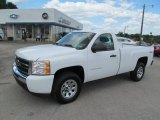 2011 Summit White Chevrolet Silverado 1500 LS Regular Cab 4x4 #67147448