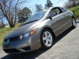2006 Galaxy Gray Metallic Honda Civic EX Coupe #6558479