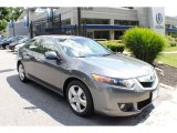 2010 Polished Metal Metallic Acura TSX Sedan #67213187