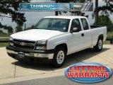 2006 Summit White Chevrolet Silverado 1500 Extended Cab #67213483