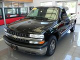 Onyx Black Chevrolet Silverado 1500 in 2002