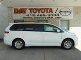 2012 Super White Toyota Sienna XLE #67213109