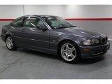2002 Steel Grey Metallic BMW 3 Series 330i Coupe #67213423