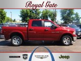 2012 Deep Cherry Red Crystal Pearl Dodge Ram 1500 Outdoorsman Crew Cab 4x4 #67213071