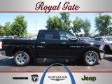2012 Black Dodge Ram 1500 Laramie Crew Cab 4x4 #67213070