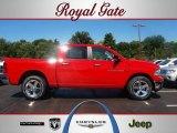2012 Flame Red Dodge Ram 1500 SLT Crew Cab 4x4 #67213069