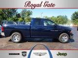 2012 True Blue Pearl Dodge Ram 1500 ST Quad Cab #67213657