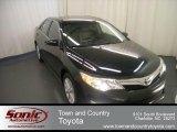 2012 Attitude Black Metallic Toyota Camry XLE #67213386
