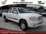 2005 Natural White Toyota Tundra SR5 Access Cab 4x4 #67213625