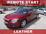2008 Red Jewel Tint Coat Chevrolet Malibu LTZ Sedan #67213017