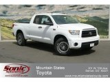2012 Super White Toyota Tundra TRD Rock Warrior Double Cab 4x4 #67212990