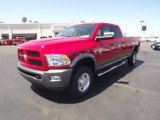 2012 Flame Red Dodge Ram 3500 HD SLT Crew Cab 4x4 #67213293