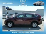 2012 Basque Red Pearl II Honda CR-V LX 4WD #67213532
