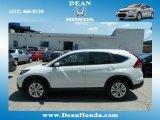 2012 White Diamond Pearl Honda CR-V EX-L 4WD #67213531