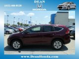 2012 Basque Red Pearl II Honda CR-V EX 4WD #67213520
