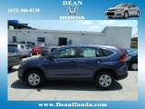 2012 Twilight Blue Metallic Honda CR-V LX 4WD #67213519