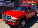 2004 Flame Red Dodge Dakota Sport Club Cab 4x4 #67213215