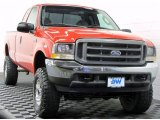 2003 Red Clearcoat Ford F250 Super Duty XL SuperCab 4x4 #67271278