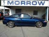 2002 Indigo Blue Metallic Chevrolet Cavalier Z24 Coupe #67270876