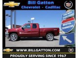 2013 Deep Ruby Metallic Chevrolet Silverado 1500 LT Extended Cab 4x4 #67271522