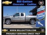 2012 Graystone Metallic Chevrolet Silverado 1500 LT Extended Cab 4x4 #67271519