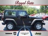 2012 Black Jeep Wrangler Sport 4x4 #67270787