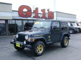 2006 Deep Beryl Green Pearl Jeep Wrangler Sport 4x4 Golden Eagle #6564578