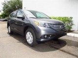 2012 Polished Metal Metallic Honda CR-V EX #67270746