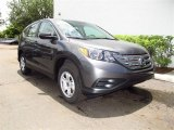 2012 Polished Metal Metallic Honda CR-V LX #67270744
