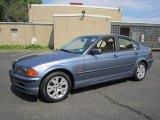 2001 Topaz Blue Metallic BMW 3 Series 325xi Sedan #67271453