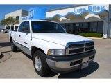 1998 Bright White Dodge Ram 1500 ST Extended Cab #6635495