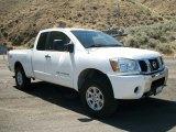 2007 White Nissan Titan SE King Cab 4x4 #67271444