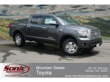 2012 Magnetic Gray Metallic Toyota Tundra Limited CrewMax 4x4 #67270695