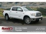 2012 Super White Toyota Tundra Platinum CrewMax 4x4 #67270694
