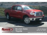 2012 Barcelona Red Metallic Toyota Tundra Platinum CrewMax 4x4 #67270690