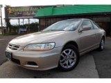 2002 Naples Gold Metallic Honda Accord EX V6 Coupe #67271005