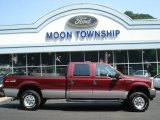 2004 Dark Toreador Red Metallic Ford F250 Super Duty FX4 Crew Cab 4x4 #67270970