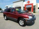 2004 Merlot Red Hyundai Santa Fe GLS 4WD #67270965